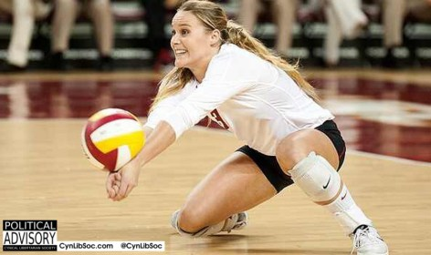 Volleyball chycks work much harder than Peter Singer ever will.