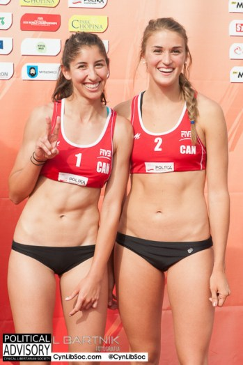 Dear Canada; Thank you for sending us your volleyball chycks.