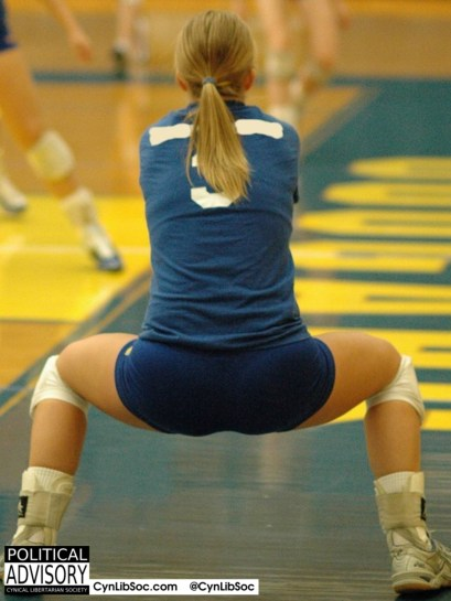More men than women use Twitter and hot volleyball chycks don't give a squat.