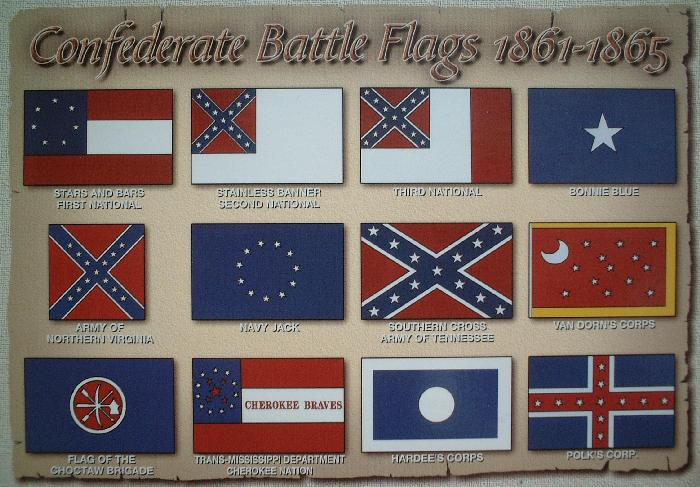 Actual Confederate Flags for you fucktards.