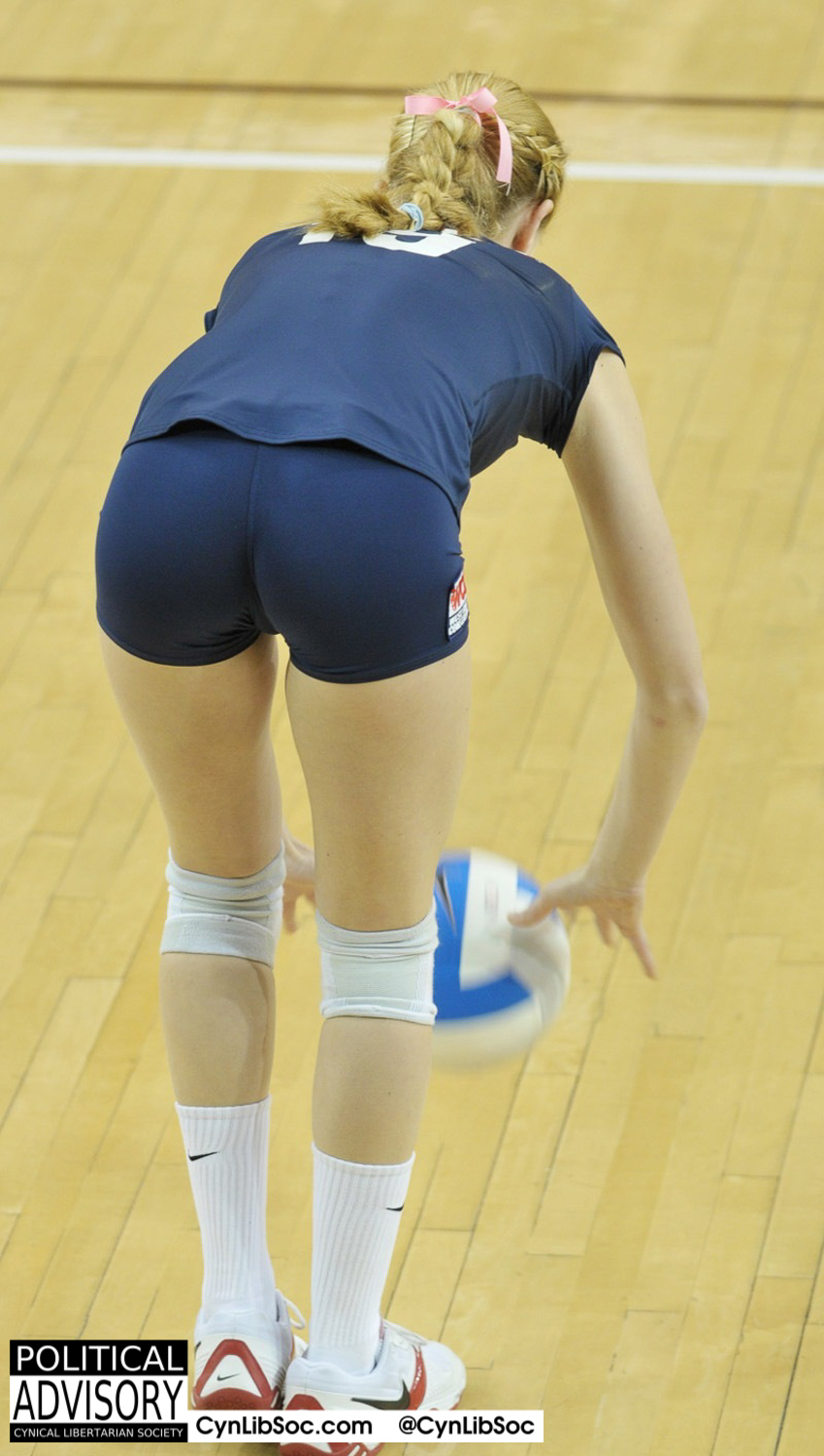 Ya know what I think about? Volleyball chycks.