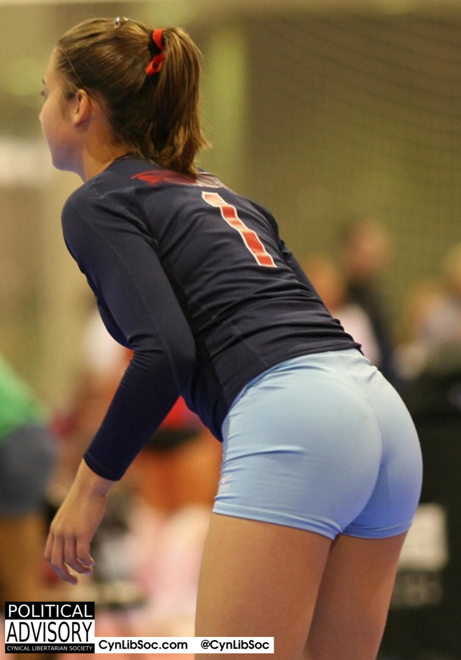 I bet you didn't know volleyball chycks have hot butts.