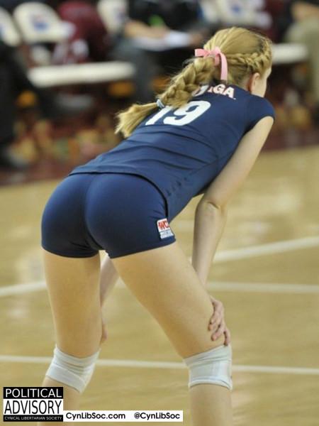 Volleyball chycks keep me happy.
