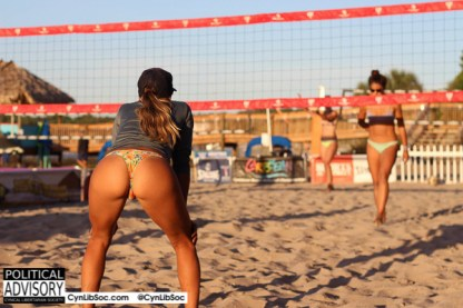 The interwebz don't make you smart but volleyball chycks make me happy.