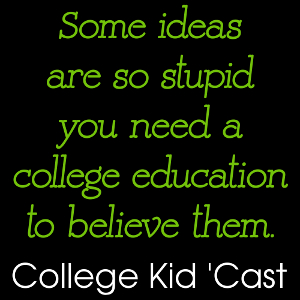 The College Kid 'Cast