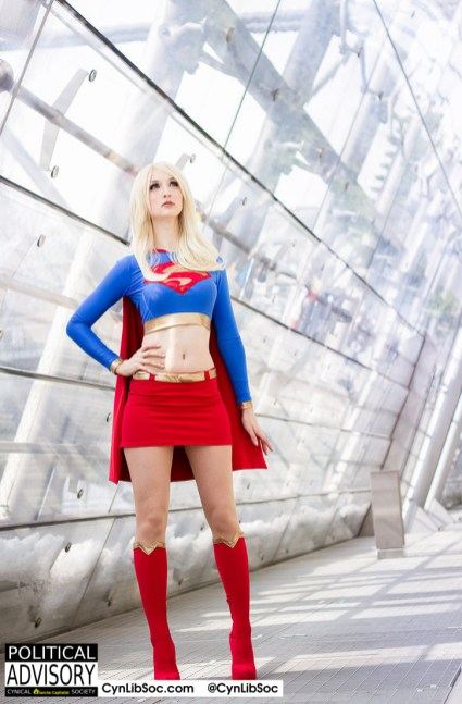 Not even Supergirl can defeat The Wall.