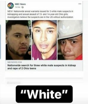 hunt for 3 white males