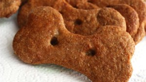 recette biscuits banane cacahuète chien
