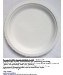 paper plate handout