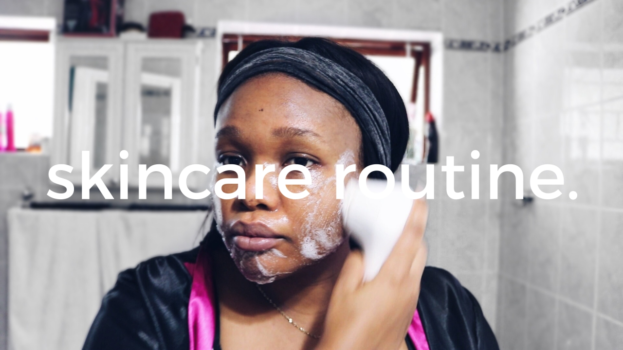 morning and evening skincare routine 2016 south africa beauty blogger