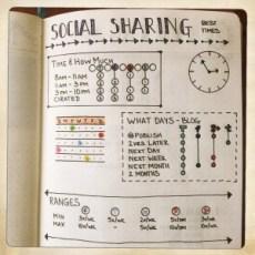 Bullet Journal Social Sharing Info