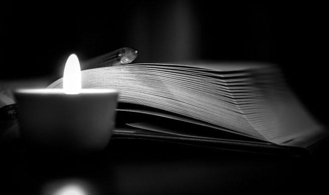 candle writing ritual