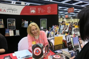 Sue, book signing at AWP, The Pat Boone Fan Club