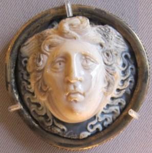 Ancient Cameo of Medusa