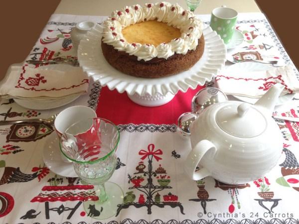 tea for modern times - cheesecake