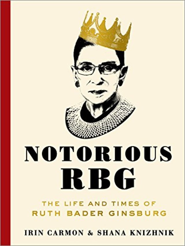 Notorious RBG cover - book by Irin Carmon