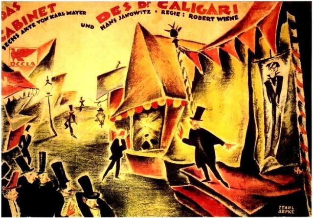"The Cabinet of Dr. Caligari - ""Original German One-Sheet"""