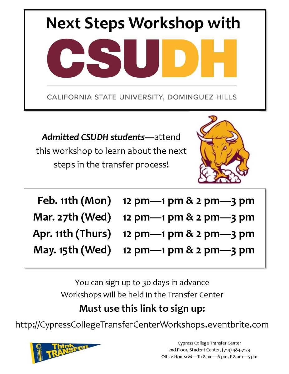 Next Steps: Next Steps Workshop With CSU Dominguez Hills