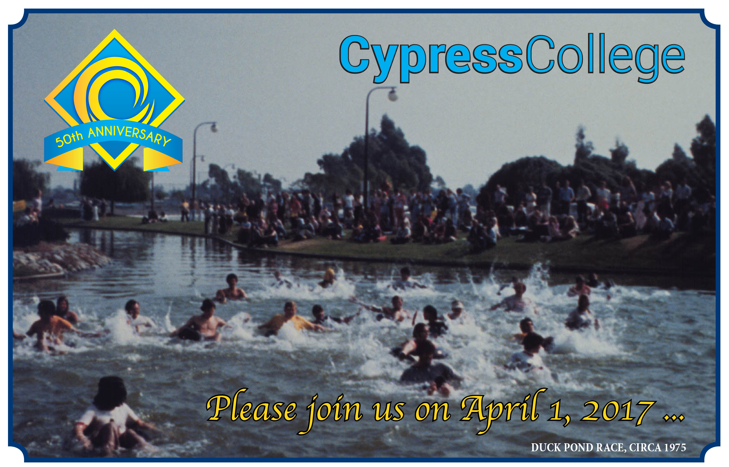 50th Duck Pond Cypress College