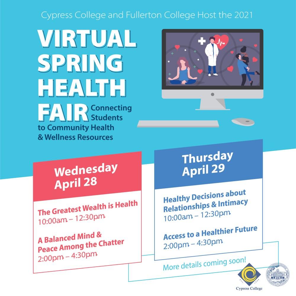 Details on virtual health fair event