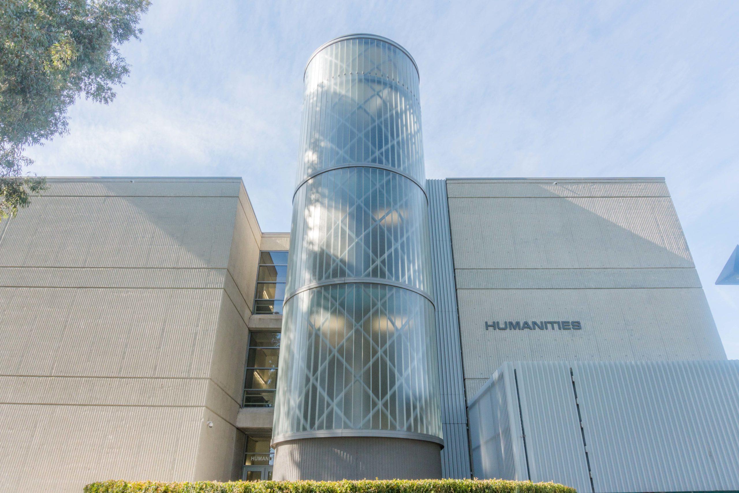 Exterior of Humanities Building
