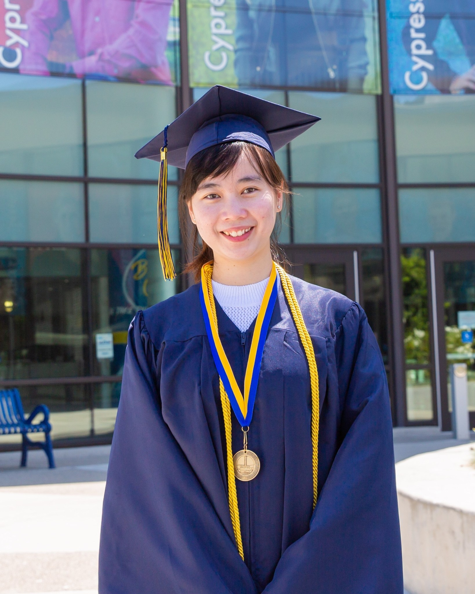 Presidential Scholar of Distinction, Anh Nguyen, Library & Learning Resource Center