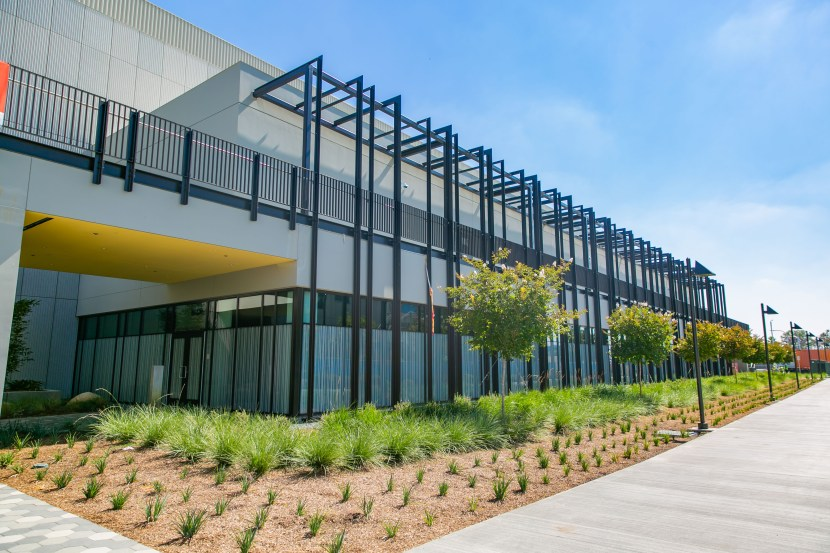 Exterior of new SEM building