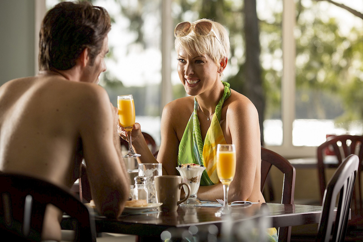 Dining and Drinking  Cypress Cove Nudist Resort in Kissimmee FL  Cypress Cove Nudist Resort