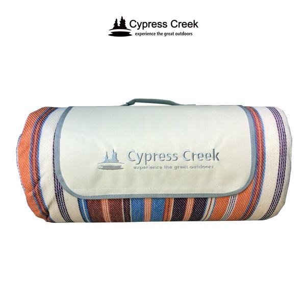 CC-M203 賽普勒斯Cypress Creek 彩虹條紋野餐墊 265×265