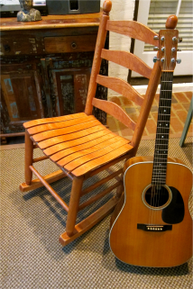 Armless Sewing Rocking Chair - Porch Swings Patio