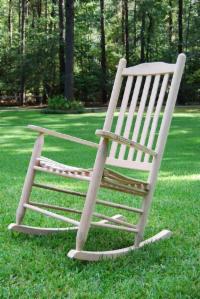 Oak Rocking Chairs set  Porch Swings  Patio Swings