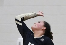 Cypress Park High School sophomore Zemarah Lott was among the qualifiers for the Academic All-District 14-6A Volleyball Team. (CFISD courtesy photo)