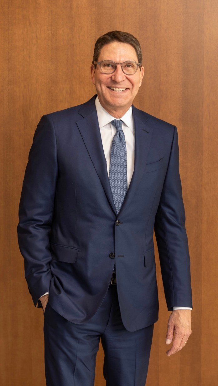 """Lone Star College-CyFair graduates will hear from Scott McClelland, president of H-E-B Food/Drug Stores, at this year's May 11 commencement ceremony. Known as the """"H-E-B Guy"""", McClelland is the local face for H-E-B starring in TV commercials along with JJ Watt, Deshaun Watson, Jose Altuve and other local notables. He has worked for H-E-B, a $26 billion retailer that operates 390 stores in Texas and Mexico, since 1990 holding a number of marketing and operations positions before being named president of all H-E-B stores in July 2017. (LSC courtesy photo)"""