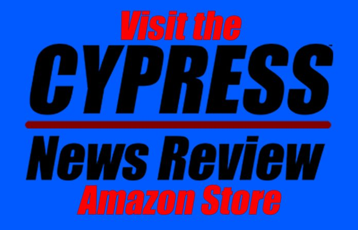 Visit the Cypress News Review's Amazon Store!