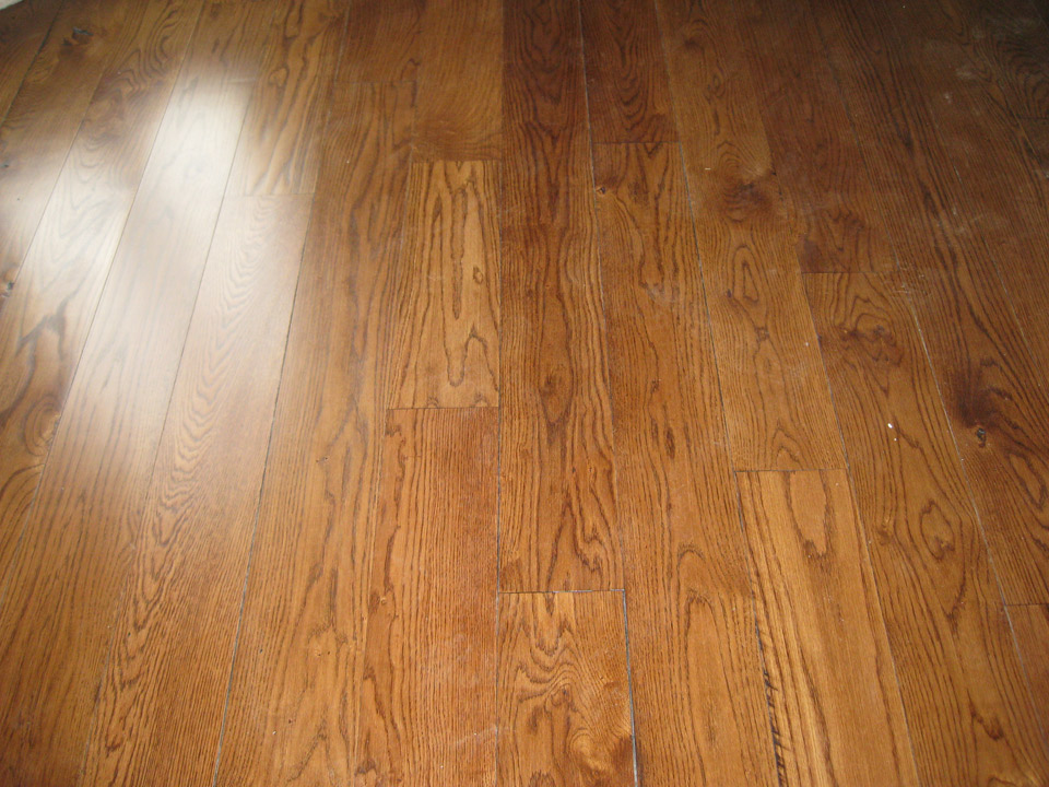 Red Wood Flooring