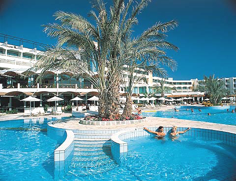 Athena Beach Hotel in Paphos on the holday island of Cyprus