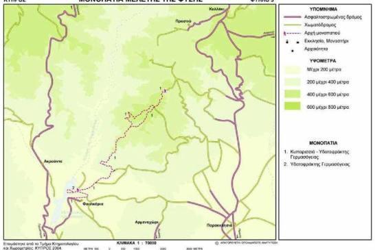 01. Trail Kyparissia – Germasogeia dam (linear)