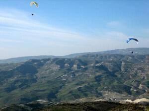 Paragliding in Cyprus, Dora