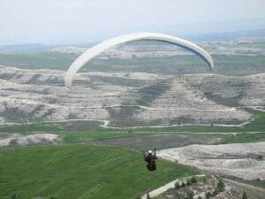 Paragliding in Cyprus, Avdellero