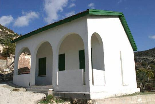 The mosque in the village of Akoursos