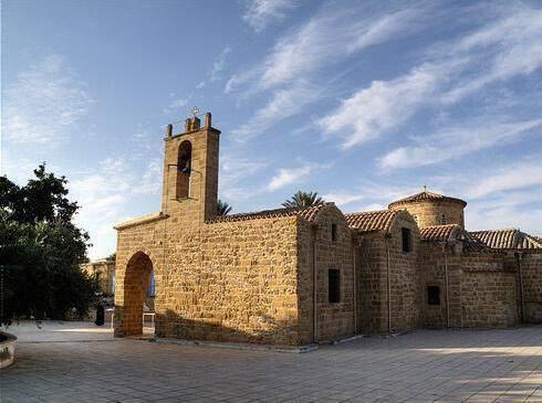 Panagia Chrysaliniotissa Church (within the walls) Nicosia