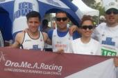 Dynamic presence of Dro.Me.A. Racing running team at the 2014 Limassol Marathon