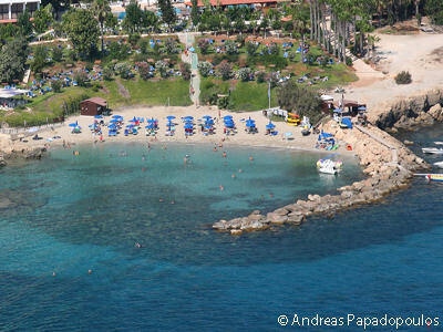 Ελεύθερη επαρχία Αμμοχώστου Παραλία Νησιά Λομπάρδι – Μπλε Σημαία