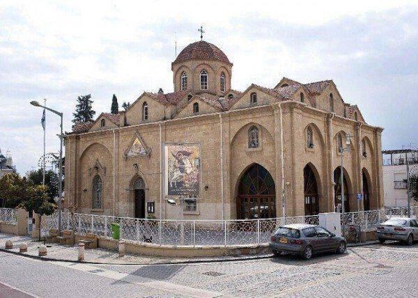 Εκκλησία Αγίου Γεωργίου, Άγιος Δομέτιος