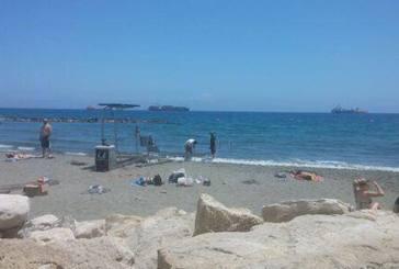 Προσβάσιμη παραλία για ΑΜΕΑ Ακτή Ολυμπίων δίπλα από μόλο Λεμεσός