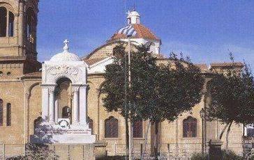 Το Μαυσωλείο των Κυπρίων Εθνομαρτύρων (εντός των τειχών) Λευκωσία
