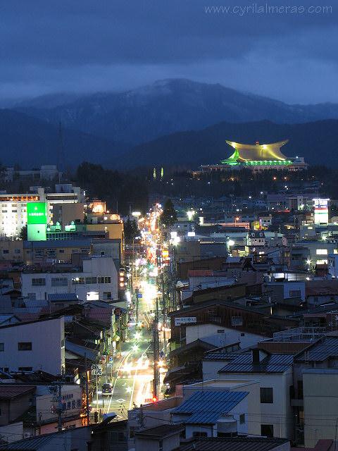 Photos du Japon de nuit Tokyo Kyoto