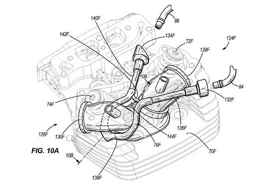 Harley-Davidson Water-Cooled Heads Patent at Cyril Huze