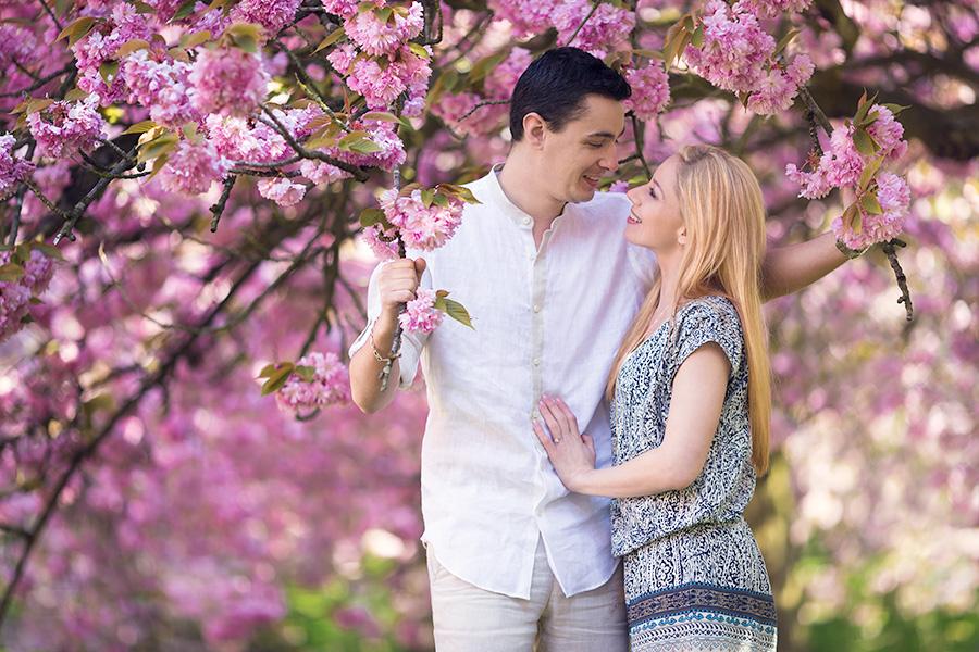Article à propos de la séance d'engagement avant le mariage