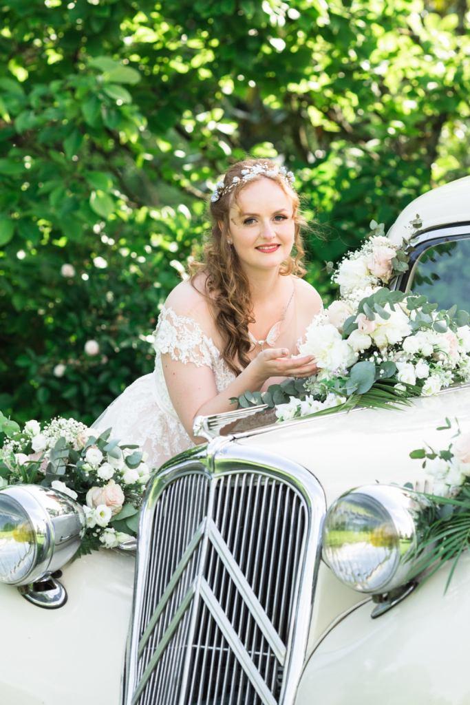 Photographie de mariage au Jardin du Point du Jour